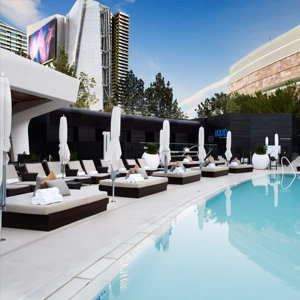 Poolside at Liquid in Aria