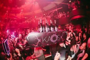 Kaos Night club, Free entry, Guestlist, Table Deals