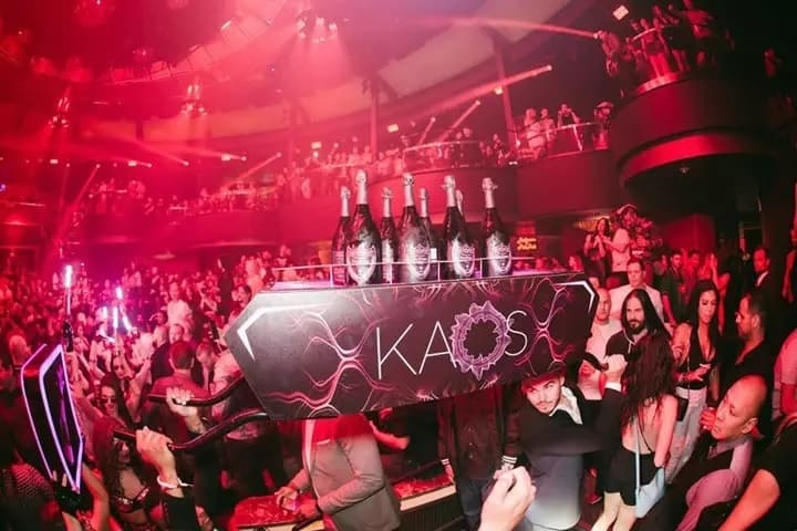 Kaos Night club, Free entry, Guestlist, Table Deals
