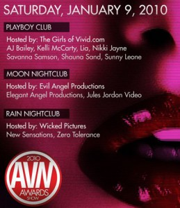 AVN Afterparty Guestlist