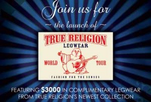 Guestlist True Religion Party