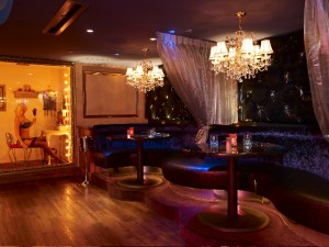 Chandelier Room-Dressing at CatHouse