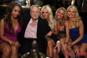 Hugh Hefner at Playboy