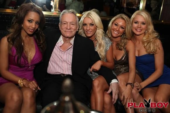 Hugh Hefner at Playboy