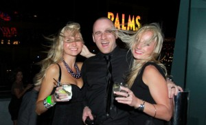 Partying on Labor Day in Las Vegas