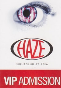 Haze Free VIP Entry Ticket