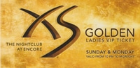 XS Nightclub Ladies Line Pass