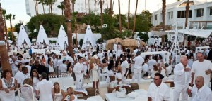 Crowd at Nikki Beach Las Vegas