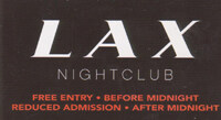 Free VIP to LAX nightclub Las Vegas