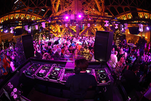 Chateau Nightclub DJ Booth