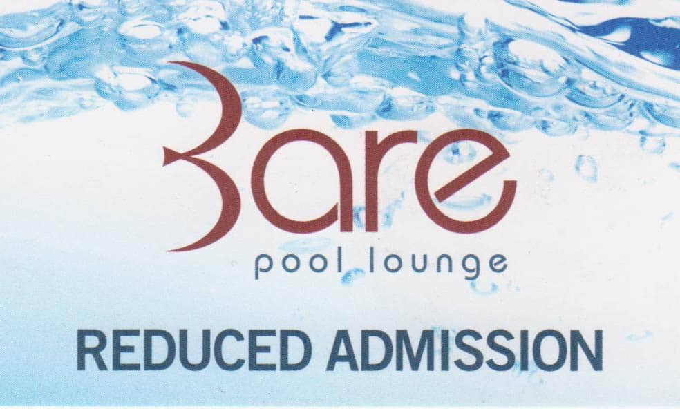Free VIP Entry to Bare Pool Las Vegas