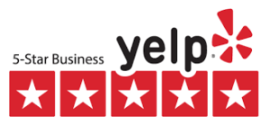 5 Starts on Yelp