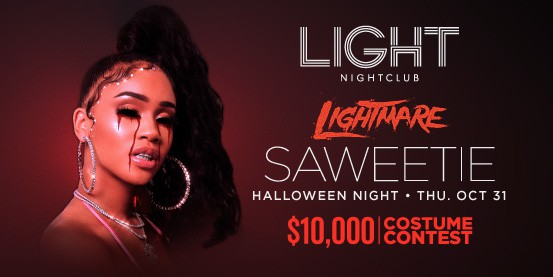 saweetie at light halloween free entry
